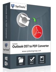 How to convert an OST file to PDF file