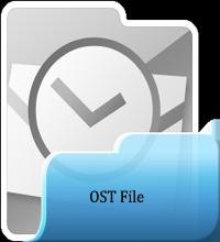 repair .ost file